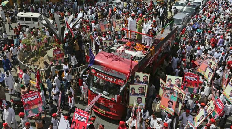 Electioneering ends for 14 UP seats; Akhilesh Yadav, Maneka Gandhi among candidates