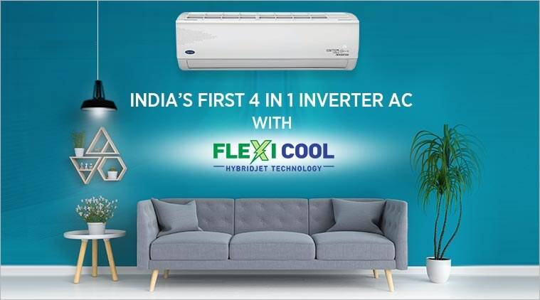 Carrier has introduced India's first 4 IN 1 Inverter AC with