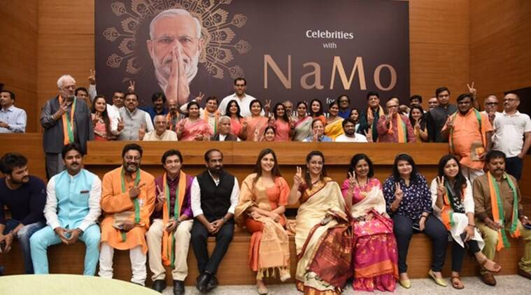Celebrities with NaMo: Film personalities come together in support of PM Narendra Modi