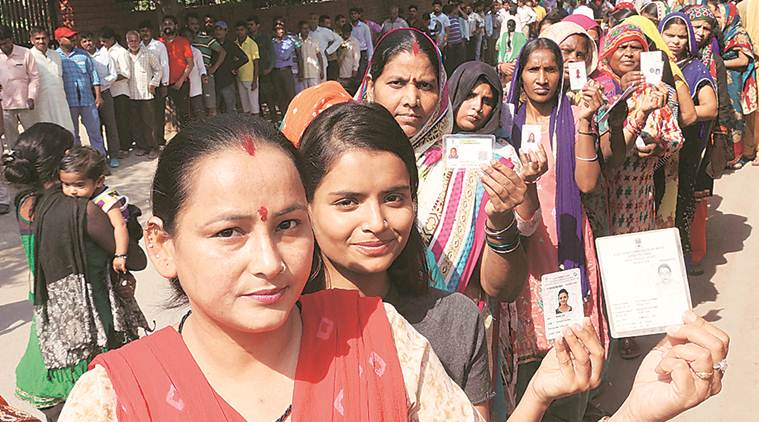 In Chandigarh, colonies ahead of sectors in voter turnout