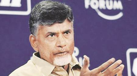 chandrababu naidu, telugu desam party, drone over chandrababu naidu's house, drone flying over chandrababu naidu's house, india news, Indian Express