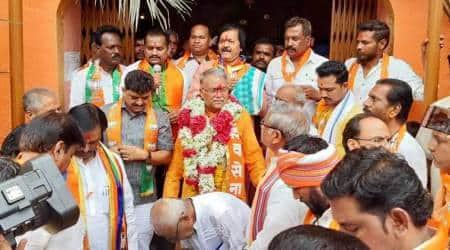 lok sabha elections, Chandrakant Khaire, Chandrakant Khaire aurangabad, shic sena BJP alliance, Maharashtra BJP, Rao Saheb Danve-Patil, Lok Sabha polls, Indian express