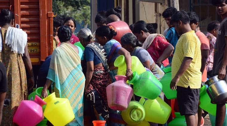 chennai tamil nadu drought and water crisis