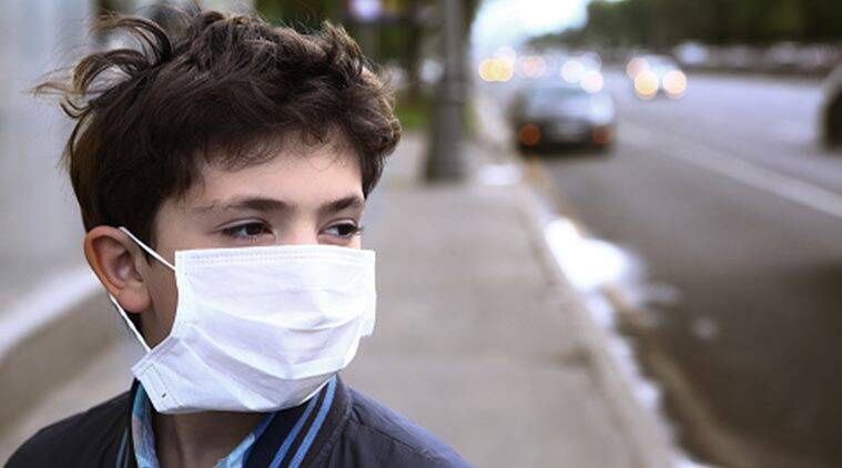 air pollution, childhood anxiety, depression, indian express, indian express news