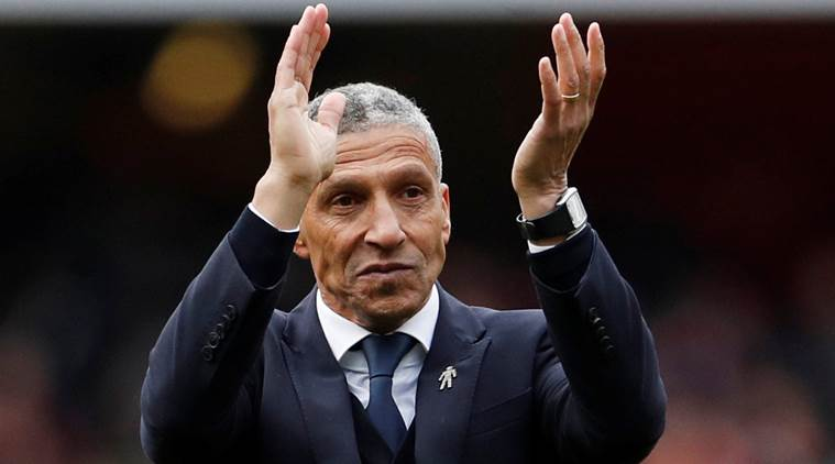 Brighton and Hove Albion fires manager Chris Hughton after slump in Premier League
