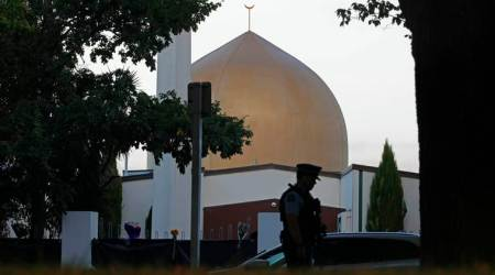 christchurch shooting, new zealand, christchurch mosque attack, gunman, brenton tarrant, christchurch gunman letter, world news, indian express news