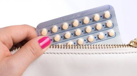 contraceptive, oral contraceptive, women, injury, knee injury, indian express news