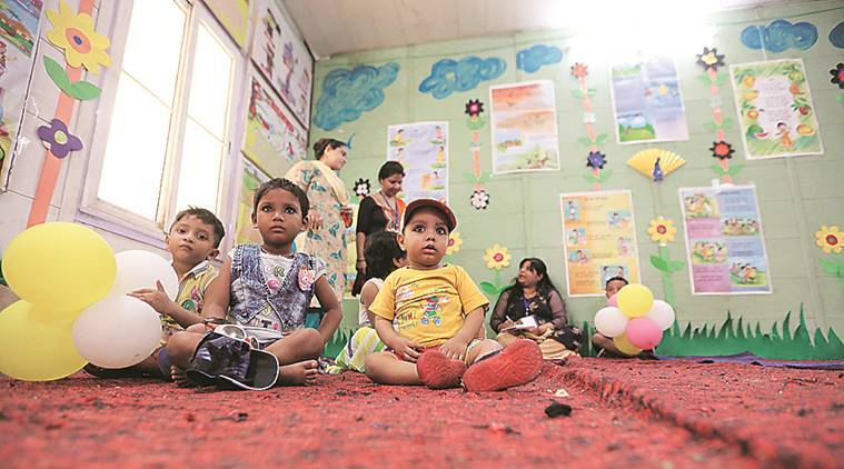 On table in Haryana: Creche in offices with 50 or more employees