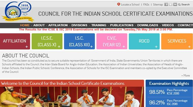ICSE, ISC result 2019: Date and time for class 10th, 12th