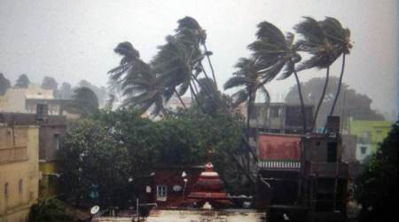 cyclone fani, fani cyclone, cyclone fani updates, fani cyclone updates, odisha cyclone, cyclone in odisha, cyclone fani kolkata, east coast railway, cyclone fani live updates, updates on cyclone fani, cyclone fani weather updates, india news, Indian Express