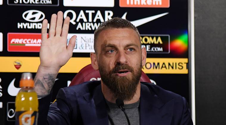 AS Roma captain Daniele De Rossi to leave club after 18 years