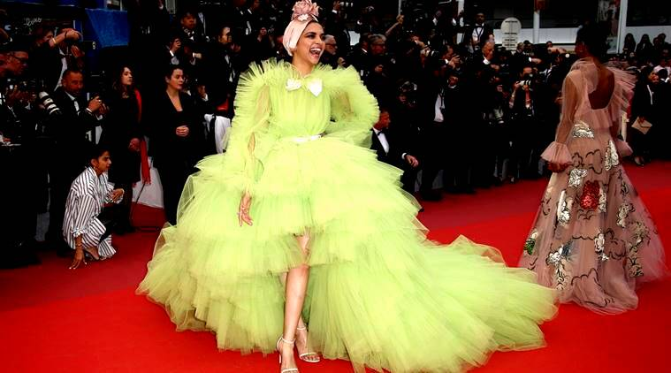 Cannes 2019 Deepika Padukone Turns Heads In This