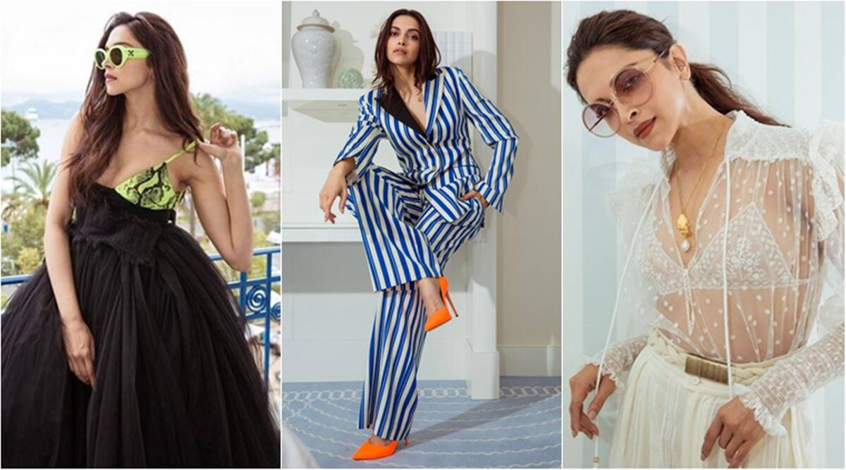 Image result for Cannes 2019: Deepika Padukone shares a video of her stunning looks from second day