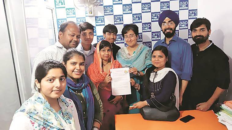From Delhi bastis, 50 youth take malnutrition campaign to politicians