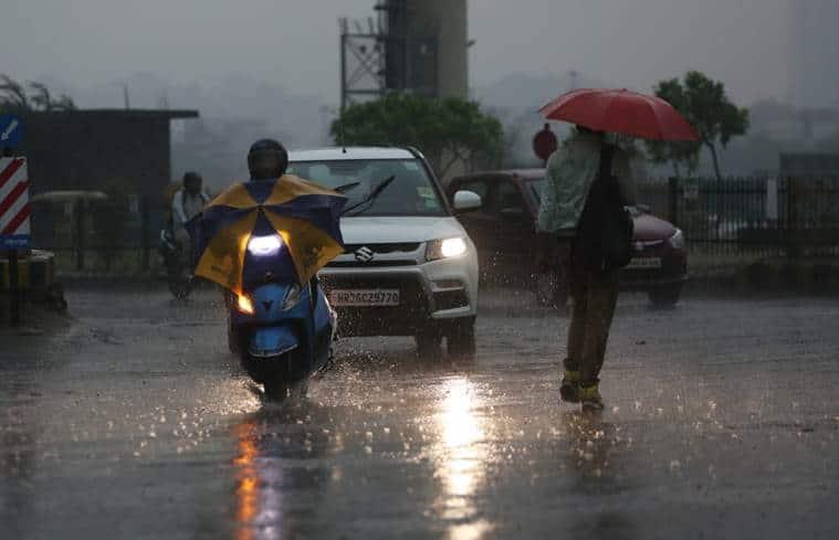 Delhi, Delhi weather, Delhi rains, Delhi summer, Delhi temperature, Delhi news, Indian Express