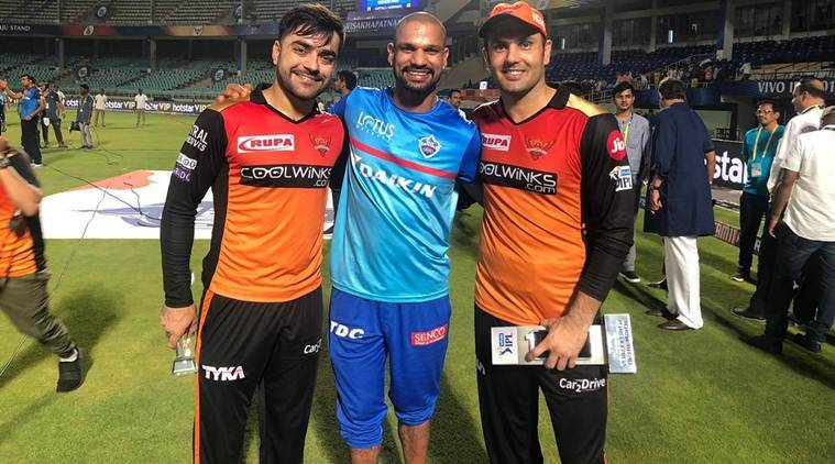 Shikhar Dhawan, Rashid Khan, Mohammad Nabi, Sunrisers Hyderabad vs Delhi Capitals, Delhi Capitals vs Sunrisers Hyderabad, IPL 2019 eliminator, IPL news, cricket news