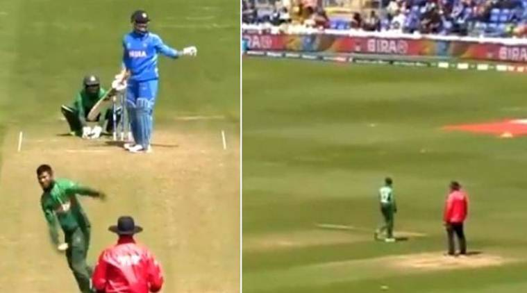 Watch: MS Dhoni 'sets' field for Bangladesh during warm-up match ...
