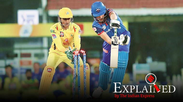 ms dhoni, ms dhoni wicketkeeping, dhoni wicketkeeping, ms dhoni csk, dhoni stumping, Dhoni stumpings, MS Dhoni stumping, MS Dhoni wicketkeeper, chennai super kings, ipl 2019, ipl news, indian express