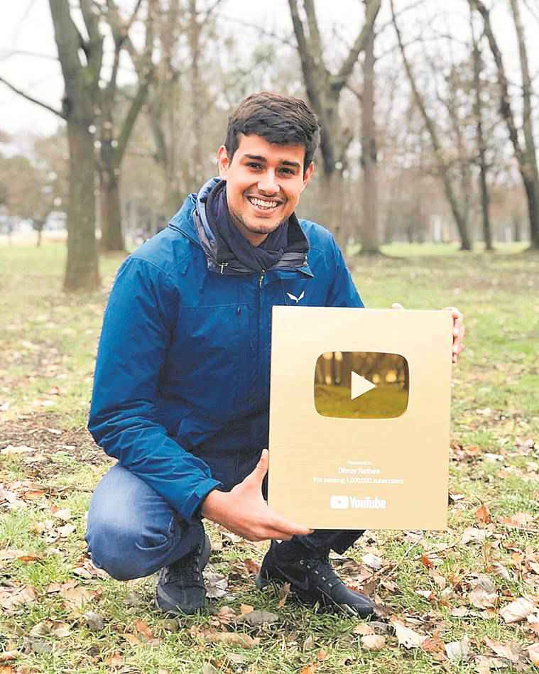 Dhruv Rathee, YouTube, Youtuber, indian express, indian express news