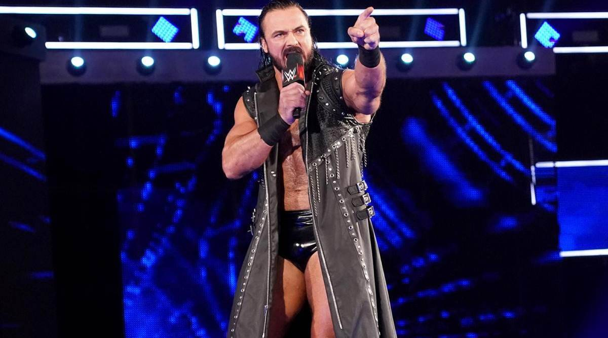 Drew McIntyre has tested positive for COVID-19