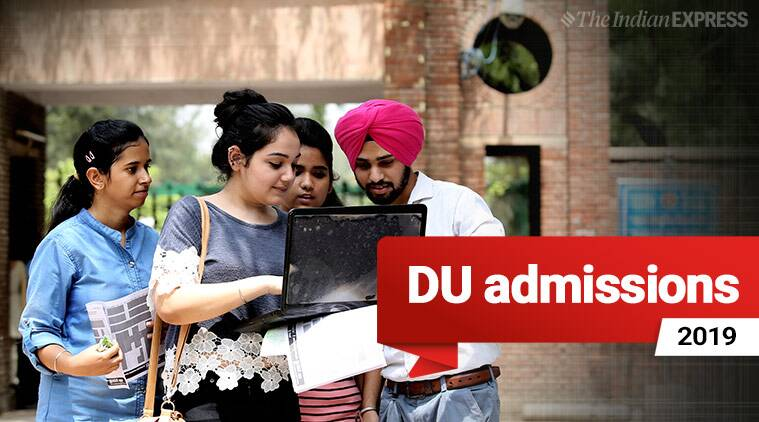 du admission, du admissions, du admissions 2019, du admission 2019, delhi university, delhi university admissions, delhi university admissions 2019, women students, female students, college admissions, open day, admission queries, education news, indian express news