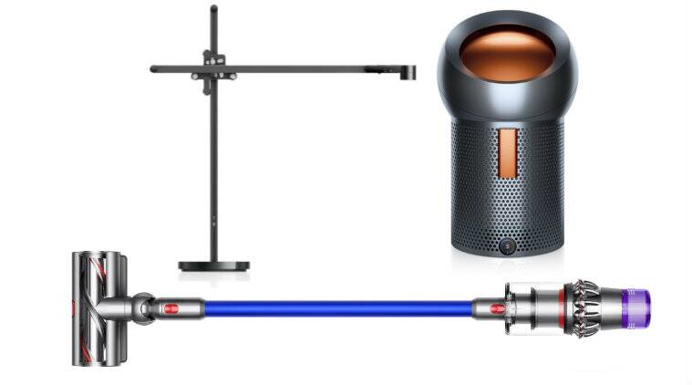 Dyson, Dyson Lightcycle task light, Dyson Pure Cool Me personal air purifier and fan, Dyson V11 Absolute cord-free vacuum, Dyson Lightcycle task light launched, Dyson Pure Cool Me personal air purifier and fan launched, Dyson V11 Absolute cord-free vacuum launched