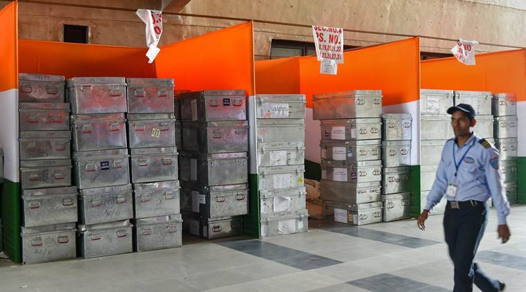 Explained: How EVMs travel from strong room to poll booth and back