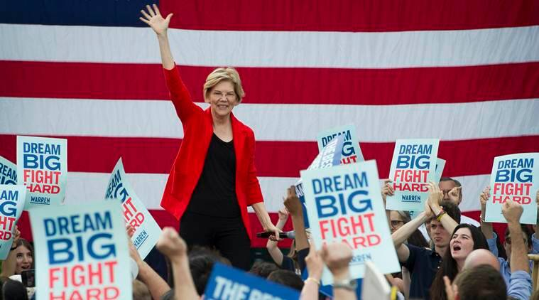 Elizabeth Warren, Elizabeth Warren 2020, Elizabeth Warren fund raise, Elizabeth Warren us president, Bernie Sanders, joe biden, us presidential elections, us presidential elections 2020