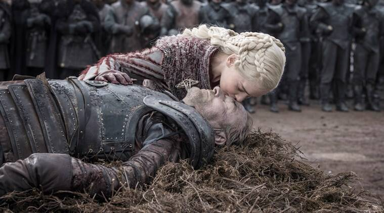 jorah mormont funeral Daenerys Targaryen