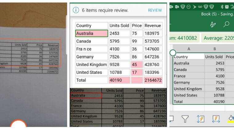 Microsoft Excel for iOS gets a new Insert from the
