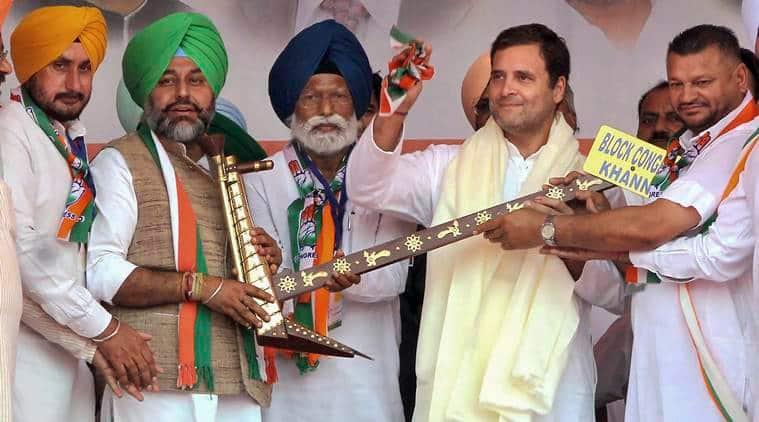 Internal politics on display at Rahul Gandhi rally in Punjab's Fatehgarh