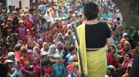 priyanka gandhi, priyanka gandhi vadra, priyanka gandhi photos, priyanka gandhi election campaign, congress up east incharge, rae bareli, lok sabha elections 2019, election news, indian express