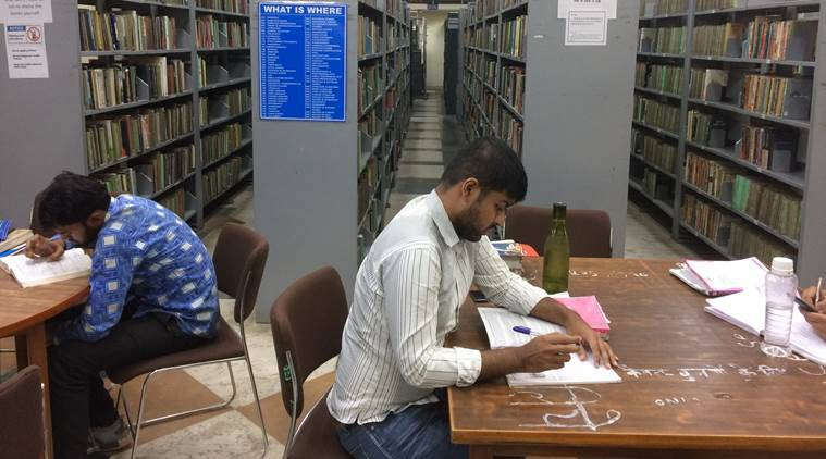 delhi public library, delhi, library, indian express, indian express news
