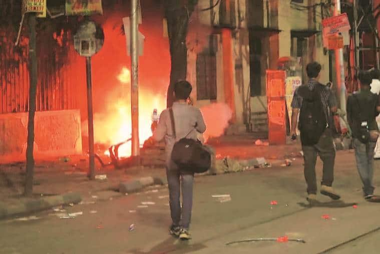 After Kolkata clashes, blame game begins