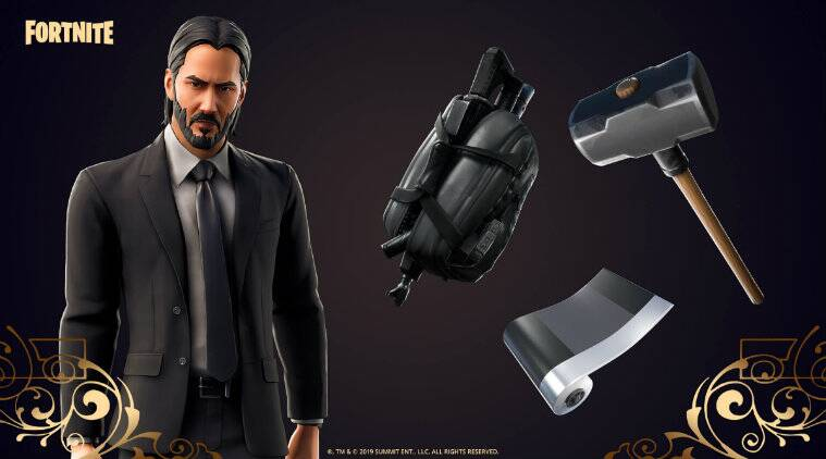 Fortnite, John Wick, Fortnite John Wick, Fortnite Wick's Bounty