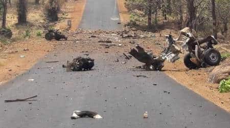 Gadchiroli Naxal attack, Gadchiroli Naxal violence, Gadchiroli attack, Naxal attack Gadchiroli, India news, Indian Express