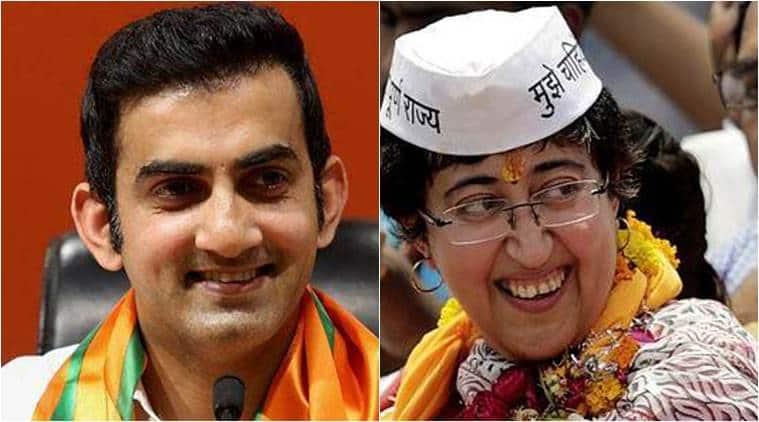 Lok Sabha elections, Lok Sabha elections 2019, 2019 Lok Sabha elections, election news, atishi, Gautam gambhir, delhi Lok Sabha elections, Delhi LS elections,