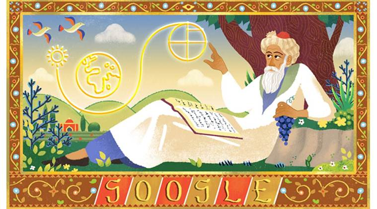 Omar Khayyam: Google celebrates Persian mathematician's 971th birthday with Doodle