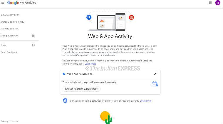 How to auto delete your Google Web & Activity app data for up to 18