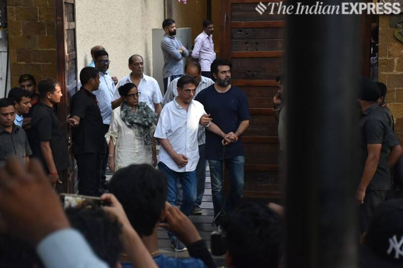 harry baweja at ajay devgn house