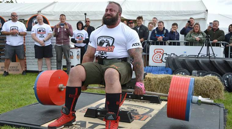 Heaviest seated deadlift, Martin Tye,505 kg deadlift, Differently-abled, Guinness World Record 2019, UK, Indian express