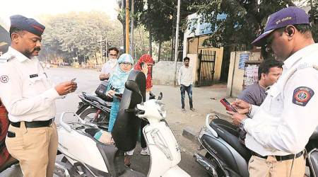 Launched on Jan 1: Drive to enforce helmet rule gets results, over 65 pc riders comply