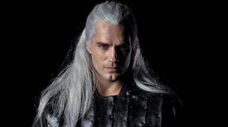 Henry Cavill as Geralt in the witcher