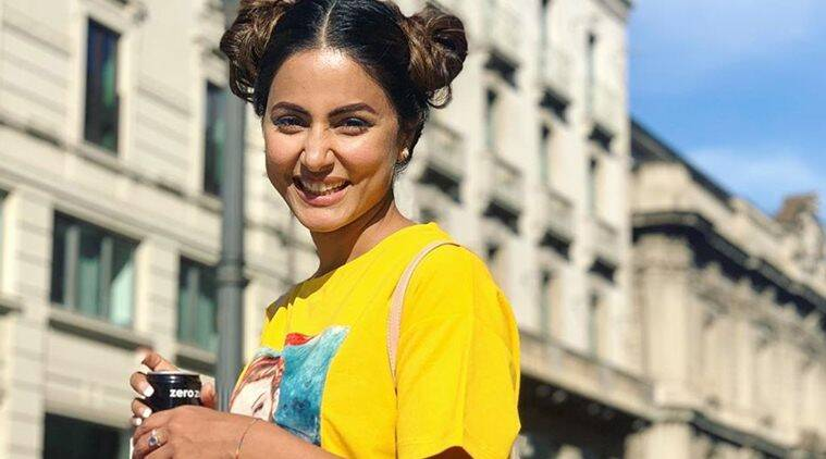 After Switzerland, Hina Khan heads to Paris with beau Rocky Jaiswal