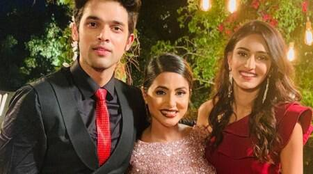 Hina Khan wraps up Kasautii Zindagii Kay shoot Parth Samthaan farewell note