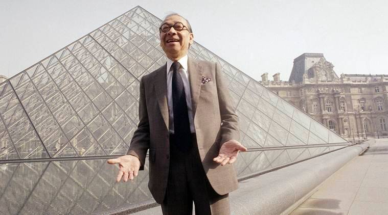 I M Pei, architect who designed Louvre Pyramid, dies at 102