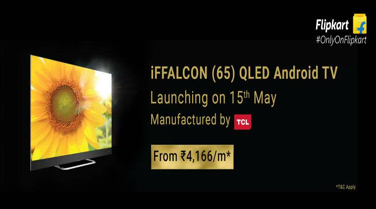 iFFALCON, iFFALCON QLED Android TV V2A, V2A, AI-enabled TV, Flipkart, Flipkart Big Shopping Days, 65-inch QLED Android TV, iFFALCON QLED Android TV V2A price, iFFALCON QLED Android TV V2A specs, iFFALCON QLED Android TV V2A features