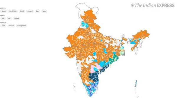 India election results 2019