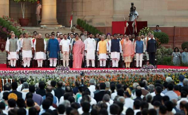 narendra modi, modi swearing in ceremony, modi swearing in ceremony, narendra modi oath taking ceremony, modi news, india news, indian express