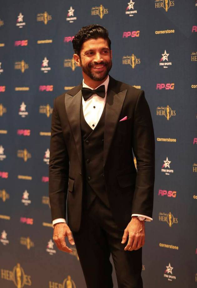 Cricketers and celebrities on the red carpet of Indian Cricket Heroes 2019 in London
